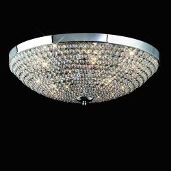 Mantra Glass 460 ceiling lamp 9L Glasses 9x40w G9 Glass