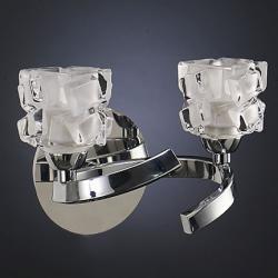 Ice Aplique 2xG9 33w Cromo