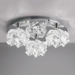 Artic ceiling lamp 3L 3xG9 33w Chrome