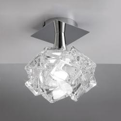 Artic ceiling lamp 1L 1xE27 23w Chrome