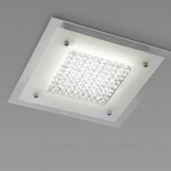 Mantra Glass LED ceiling lamp 21w 2100Lm 45Cm 4000K LED 21w Glass