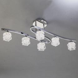 Ice Plafón 6xG9 33w Cromo