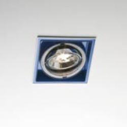 Sqaxis 13.1 Empotrable QPAR16 GU10 50w blanco Azul