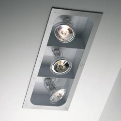 Atlas QR-111 RSC 2 Doble Recessed without transformador Black