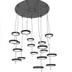 Nenufar Pre Set 9A Lamp Pendant Lamp Black for Dali