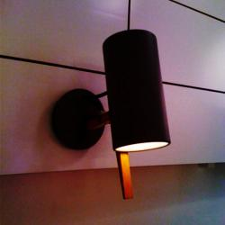 Scantling Wall lamp E27 PAR20 50W Black