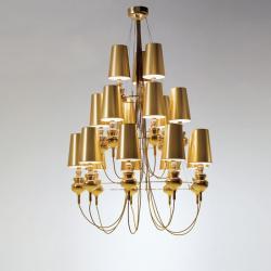 Josephine queen 9.6.3 (Structure) Pendant Lamp porcelain Gold