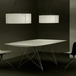 Lewit T Me (Solo Estructura) Lámpara Colgante Mediana sin pantalla E27 3x70W Negro