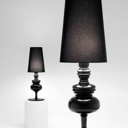 Josephine X (Solo Estructura) Lámpara de Pie sin pantalla E27 3x40W Cerámica Negra