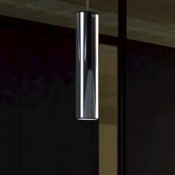 Tub LED Pendant Lamp 130cm LED 4w 3000K Stainless Steel/Black