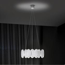 Obolo 6493 Pendant Lamp white LED 1x28w