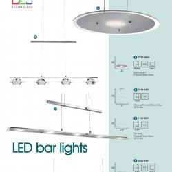 LED bar lights 1165 5CC Chrom