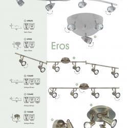Eros Plafón 3xGU10 50w Latón