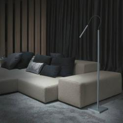 Luccas 50 lámpara of Floor Lamp LED 3w 700mA Aluminium Satin