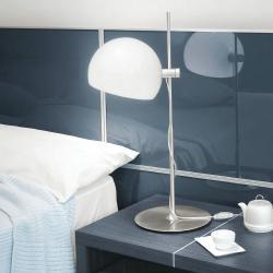 Joe 30 Table Lamp ø25cm Chrome Shiny Black