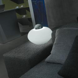 Yamsu 10 Table Lamp ø25cm white opal