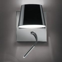 Luccas AP20 Wall Lamp 3W without switch Aluminium Satin Black