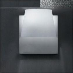 Luccas AP25 Wall Lamp Glass white Brillo