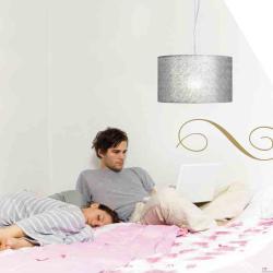 Plamira 1PL10 ceiling lamp Lacquered white ø26cm anthracite