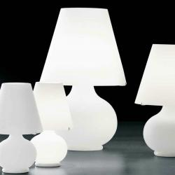 lampshade Large Table Lamp white