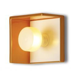 Bis Wall Lamp CERAMICA 1xG9 28w white/Naranja