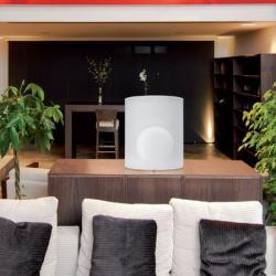 Atenea Tischleuchte lampenschirm Grau 30cm