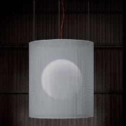 Atenea lampe Pendelleuchte lampenschirm Grau 30cm