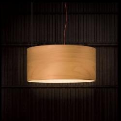 Diana lamp Pendant Lamp lampshade Wood beech Led 15W