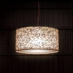 Diana lamp Pendant Lamp lampshade lombardia Beige Led 15W