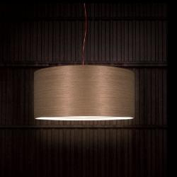 Diana lamp Pendant Lamp lampshade Wood wengue Led 15W