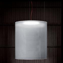 Odysea lampe Pendelleuchte lampenschirm Grau 30cm