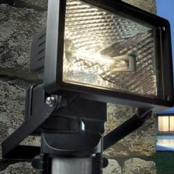 SINTESI Sensor R7s 120w negro c/Lámpara IP55
