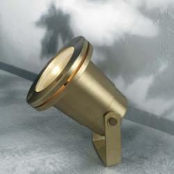GOLD Aplique GU10 50W ottone IP67