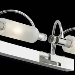 DIANA G9 2 x 40w Chrome Glass satinato