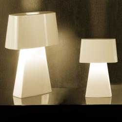 Bag Table Lamp Small 2xE14 40w white
