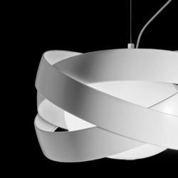 Siso T 2996 lampe Suspension ø60cm E27 3x100w blanc mat