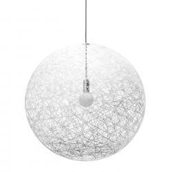 Random luz Lámpara Colgante Grande ø105cm 1x60w E27 Blanco