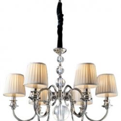 Holandesa Lampe 6xE14 LED 4W Níquel