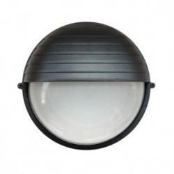 Tresso Circular Grande E27 Negro