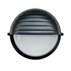 Tresso Circular Pequeño E27 Negro