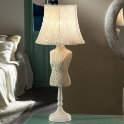 Vogue Table Lamp Large E27 20W Croche