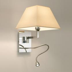 Carlota (Accessory) lampshade square 23cm Cinta translucent white