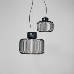 Keshi S30 Lámpara Colgante LED 9W - negro mate