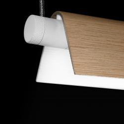 Roof S160 Lámpara Colgante regulable 35/49W G5 - Blanco