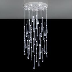 Lacrima Plafón LED 7x6W Cristal