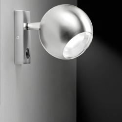 Bo-La Aplique LED 7W Níquel Satinado