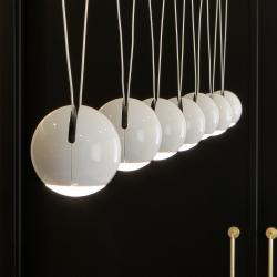 Bo-La Colgante 2Cable LED 7W Blanco