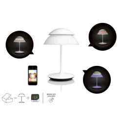 Philips Hue Beyond - Lamp of table Conectada, Controlable Vía Smartphone, 16 Millones of Colores