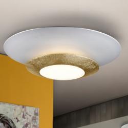 Hole Plafón LED 22,5W ø42x9cm - Pan de oro