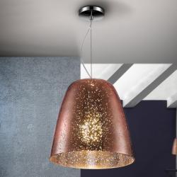 Quasar Lámpara colgante LED 60W ø28x27cm - Cobre